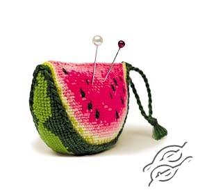 Pincushion Watermelon Kit by RIOLIS - 866