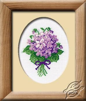 Lilac Flowers by RIOLIS - 240