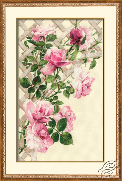 Pink Roses by RIOLIS - 898