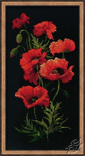 Poppy Bush by RIOLIS - 1057