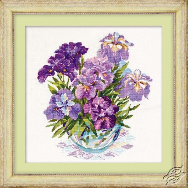 Purple Flowers by RIOLIS - 1071