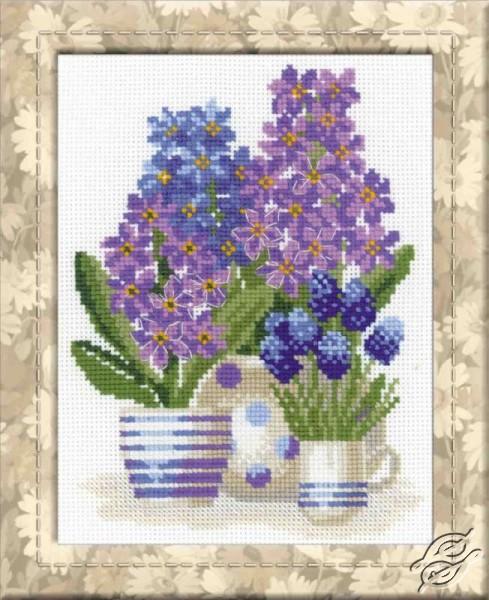 Hyacinths by RIOLIS - 1117