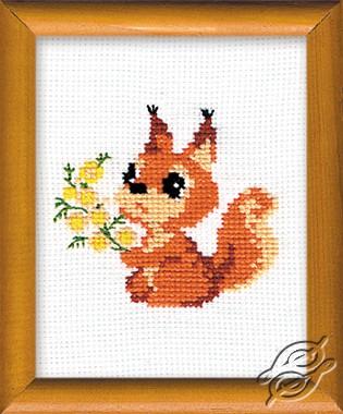 Little Squirrel by RIOLIS - 579