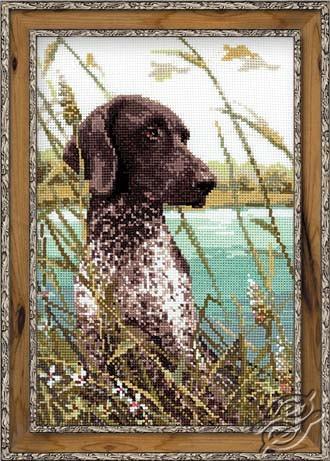 Hunting Dog by RIOLIS - 1043