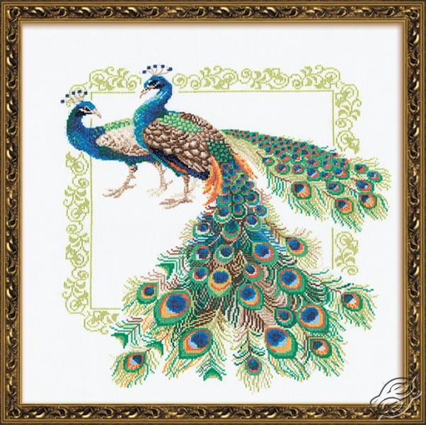 Peacocks by RIOLIS - 767