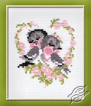 Birds In Love by RIOLIS - 524