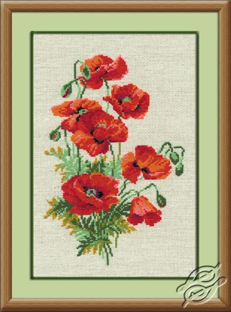 Poppies by RIOLIS - 808