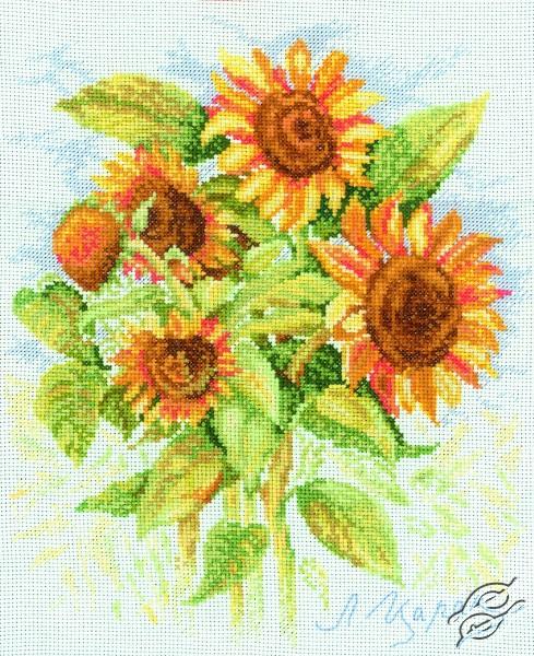 Sunflowers II by RTO - M070