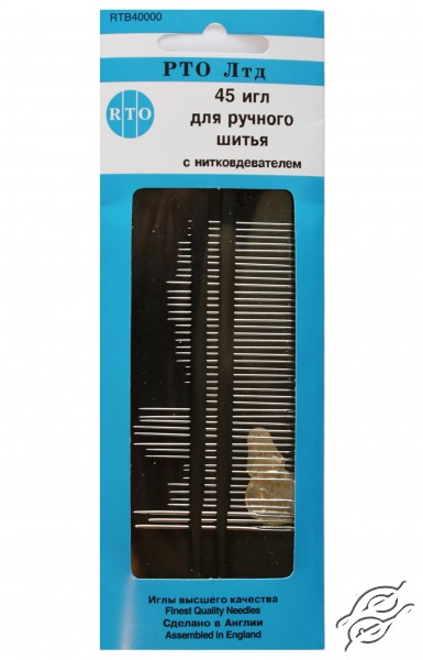 Sewing Needles RTO With Threader by RTO - 40000
