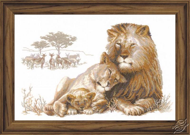 Lions by RIOLIS - 100/013