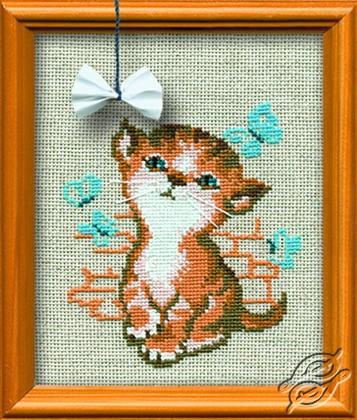 Little Kitten Named Maya by RIOLIS - 671