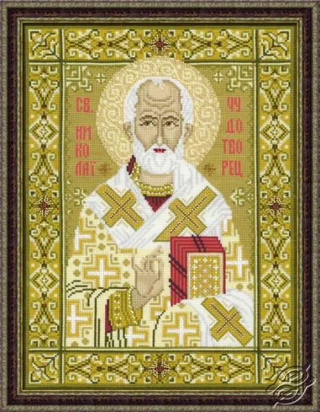 Icon - St. Nicholas The Wonderworker by RIOLIS - 1034