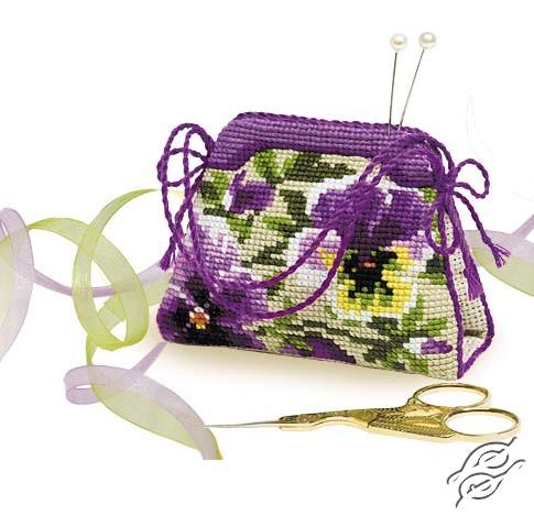 Pincushion Handbag Kit by RIOLIS - 1039