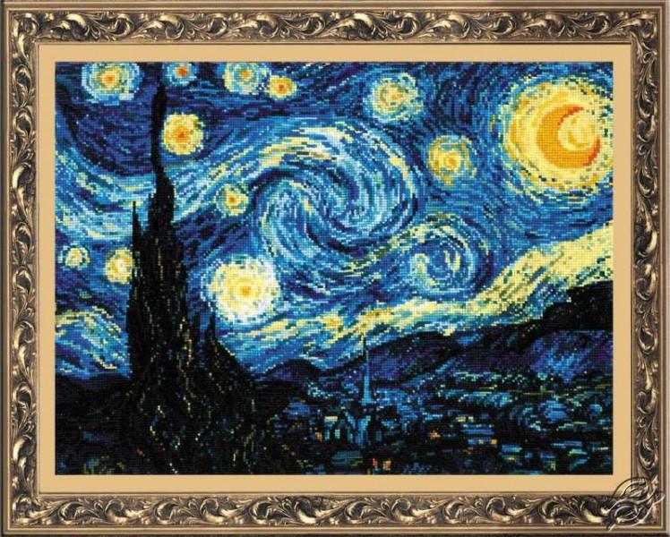 Starry Night Van Gogh by RIOLIS - 1088