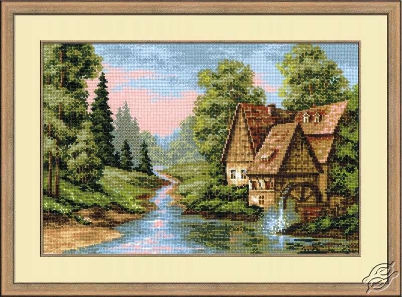 Watermill by RIOLIS - 1097