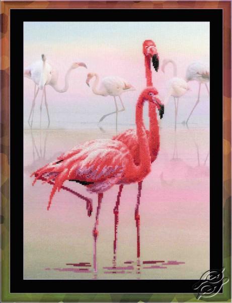 Flamingos by RIOLIS - 0012-PT