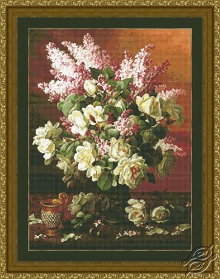 Lilacs & Roses by Kustom Krafts - 20163
