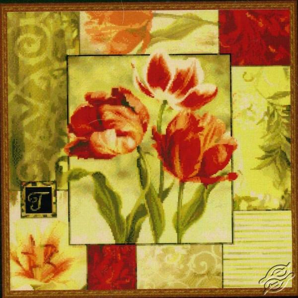 Tulips Medley I by Kustom Krafts - 99483