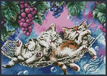 Lazy Afternoon- Kittens by Kustom Krafts - 20093