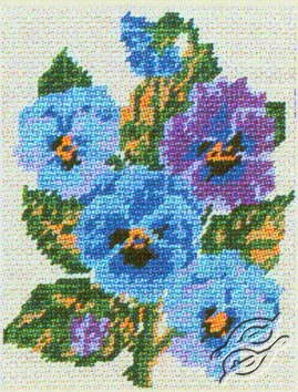 3.048 Pansies by Collection D'Art - 3048