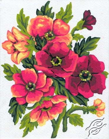 3.049 Flowers by Collection D'Art - 3049