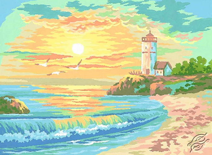 6.159 Seaside Landscape by Collection D'Art - 6159