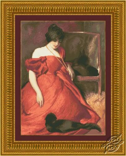 Lady In Red by Kustom Krafts - 20123