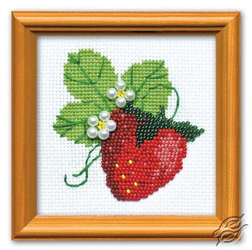 The Garden Strawberry by RIOLIS - 1165