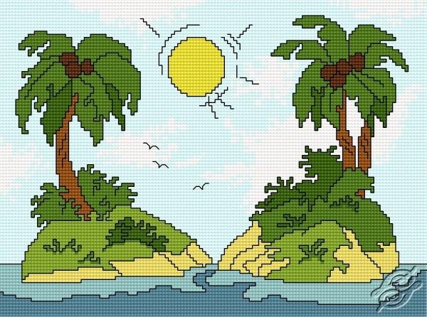 Island by HaftiX - patterns - 00872
