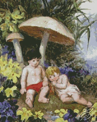 Spring by Free Cross Stitch Online - GSF00003