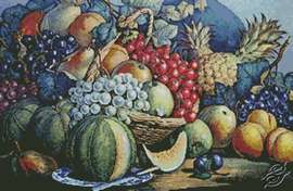 Fruit by Free Cross Stitch Online - GSF00005