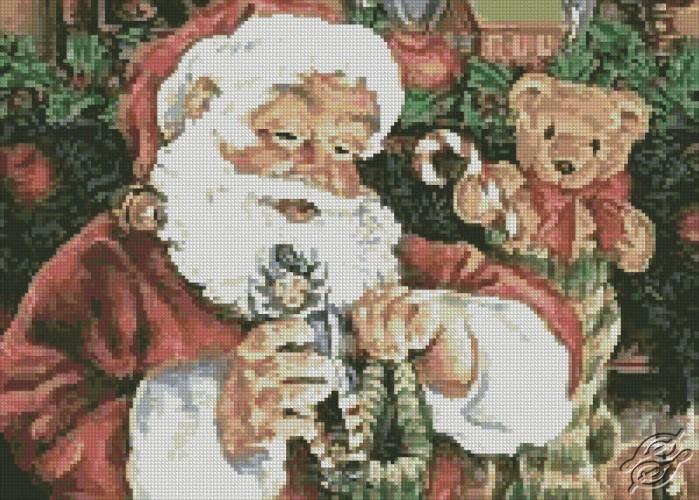 Santa by Free Cross Stitch Online - GSF00008
