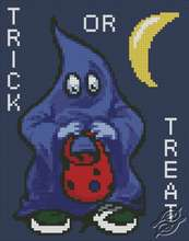 Trick or Treat by Free Cross Stitch Online - GSF00016
