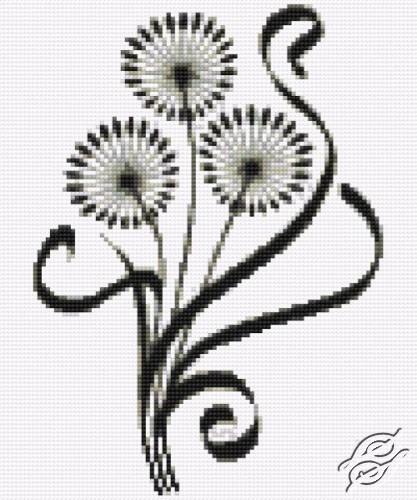 Ornament - Flowers by HaftiX - patterns - 00031