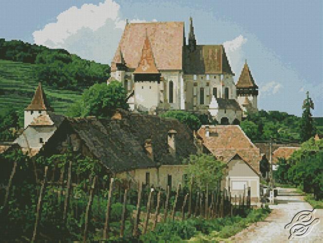 Village by Free Cross Stitch Online - GSF00025
