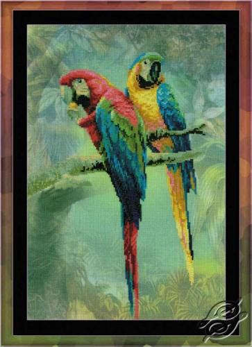 Parrots Ara by RIOLIS - 0013-PT