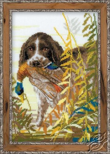 Hunting - The Spaniel by RIOLIS - 1151