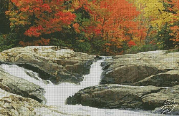Autumn Landscape by Free Cross Stitch Online - GSF00030