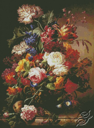 Grandmothers Bouquet by Free Cross Stitch Online - GSF00040