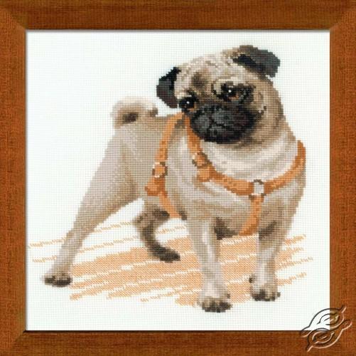 The Pug-dog by RIOLIS - 1176