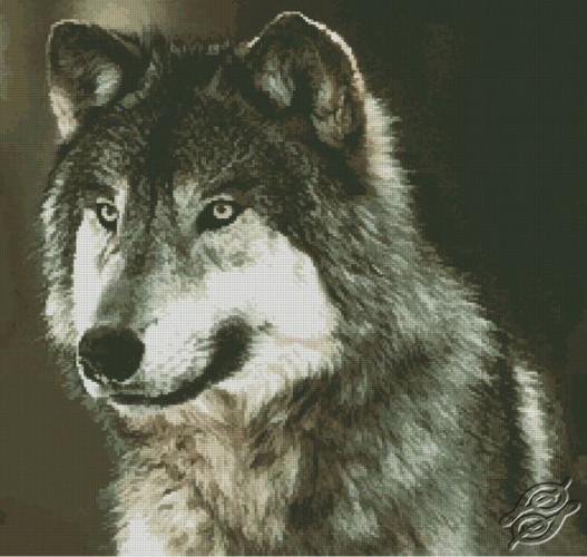 Wolf by Free Cross Stitch Online - GSF00044