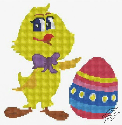 Easter Chick by Free Cross Stitch Online - GSF00046