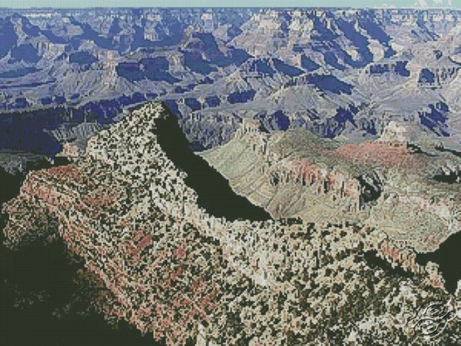 Grand Canyon by Free Cross Stitch Online - GSF00049