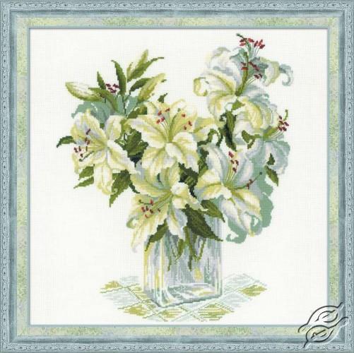 White Lilies by RIOLIS - 1169