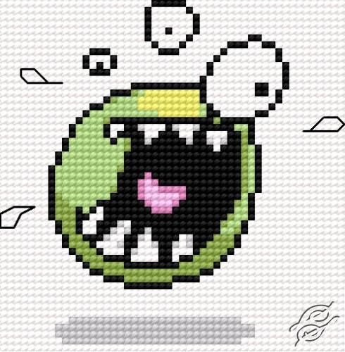 Monster by HaftiX - patterns - 00049