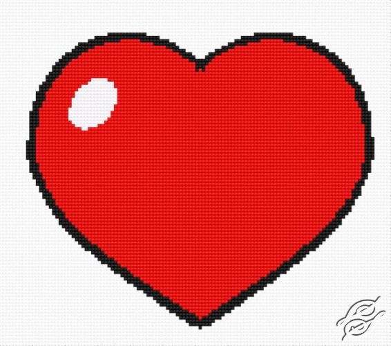 A Small Heart by HaftiX - patterns - 00074