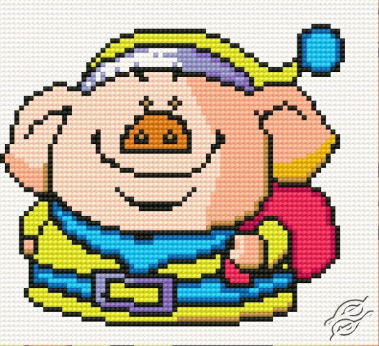 Disguised As Piglet by HaftiX - patterns - 00079