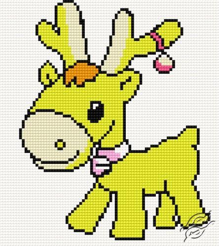 A Small Reindeer by HaftiX - patterns - 00080