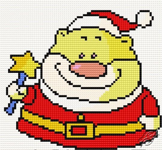 Santa Claus I by HaftiX - patterns - 00082