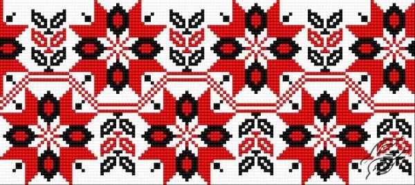 Ukrainian Embroidery - Ornament 97 by HaftiX - patterns - 00097